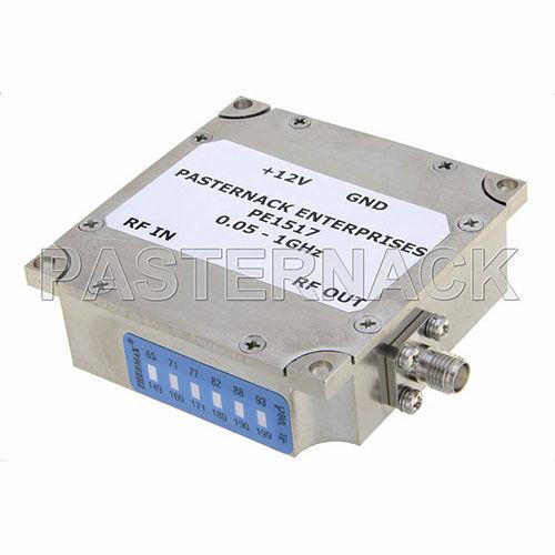 RF amplifier / DC-blocked / wide-band Pasternack Enterprises, Inc.
