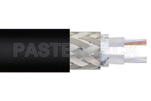 RF optical cable / insulated / twinaxial / flexible PE-S330 Pasternack Enterprises, Inc.