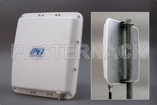 Panel antenna / RFID / broadband / GSM Pasternack Enterprises, Inc.