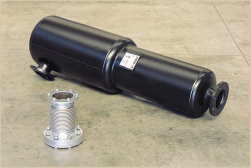 exhaust silencer / generator / tubular / standard