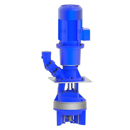 lubricant pump / electric / semi-submersible / centrifugal