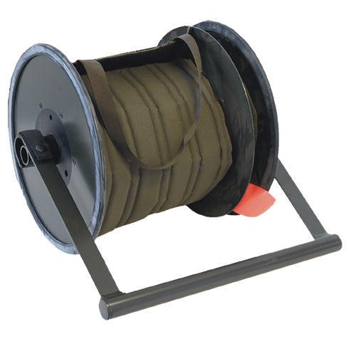 cable reel / manual / fixed / aluminum