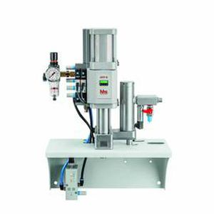 Adhesive pump / pneumatic / 2-piston / with electronic control DDP series Baumer hhs