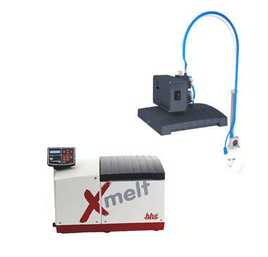 Plastic granule feeding unit / holt melt for application systems Xmelt® Baumer hhs
