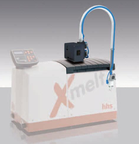Adhesive dispenser feeding unit Baumer hhs
