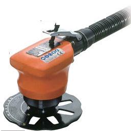 pneumatic chamfering machine / hand-held / edge