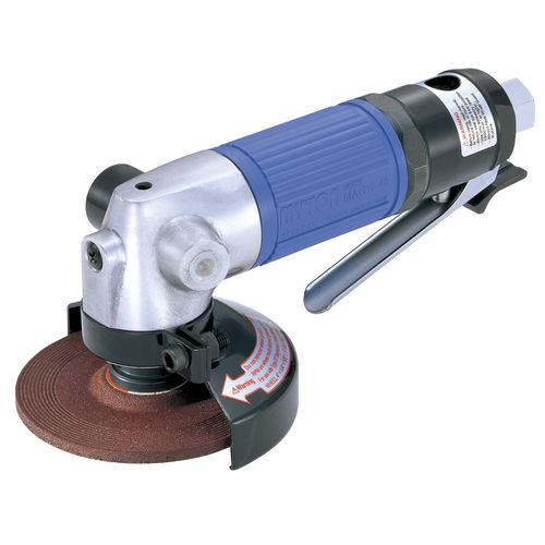 pneumatic portable grinder / industrial / variable-speed / angle