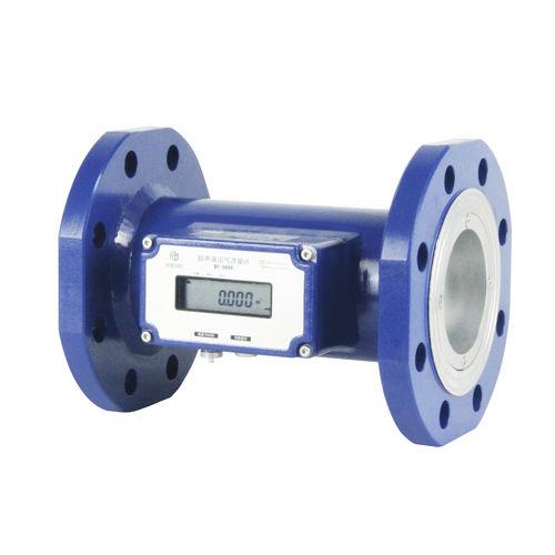 ultrasonic flow meter / biogas / digital / high-accuracy