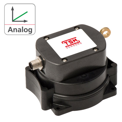 analog displacement transducer / draw-wire / non-contact / absolute