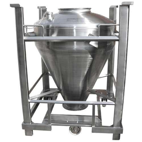 stainless steel IBC container / for pharmaceutical products / hazardous materials / for liquids