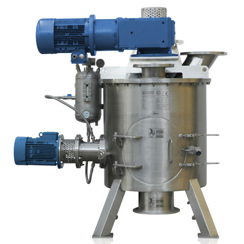 vertical mixer / dynamic / batch / powder