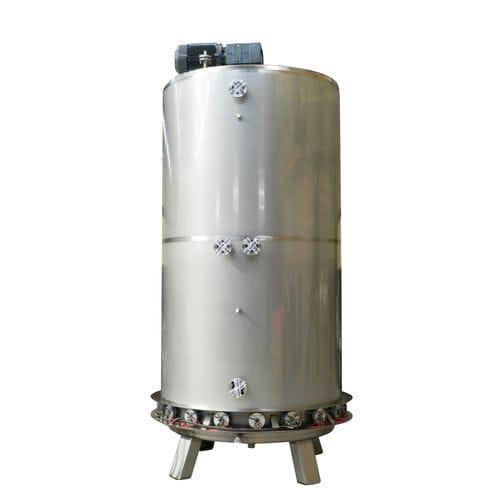 medium-viscosity liquid mixer / rotor / batch / for liquids