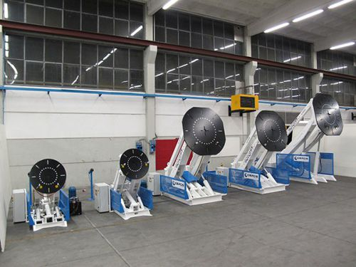 3-axis welding positioner / hydraulic / rotary
