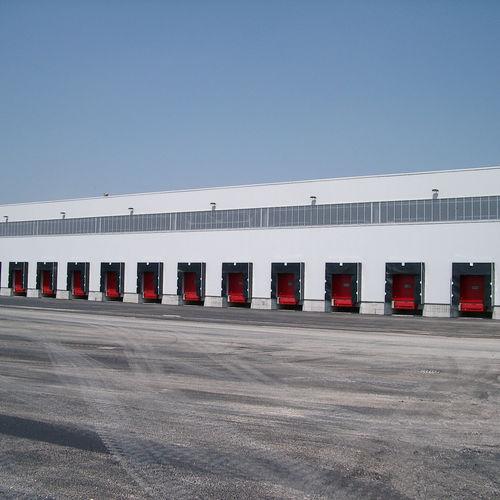 flexible dock shelter / loading / isothermal