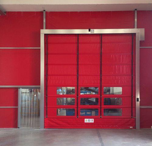 fold-up door / industrial / indoor / high-speed