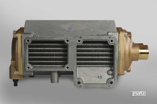 finned tube heat exchanger / air/water / compact / high-performance
