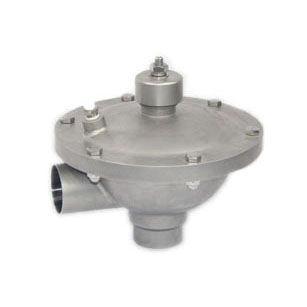 Diaphragm valve / pneumatically-operated / sampling / regulating AV-8 series Adamant  Valves