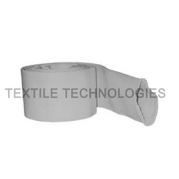 fiberglass sleeve / thermal protection / flat / for cables