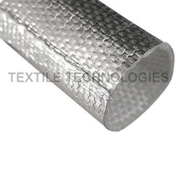 heat reflecting sleeve / heat-shrinkable / insulating / braided