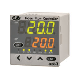 mass flow controller / for gas / digital / compact