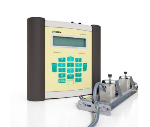 ultrasonic flow meter / thermal / for liquids / for gas
