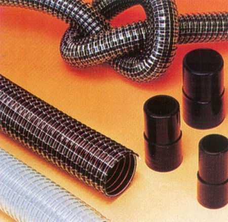 cleaning hose / transfer / PVC / abrasion-resistant