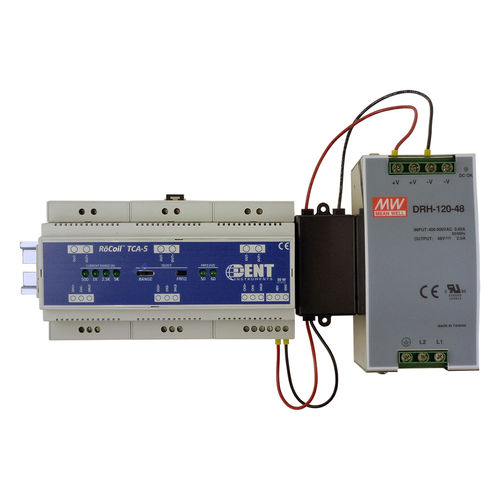 measuring amplifier / current output / DIN rail