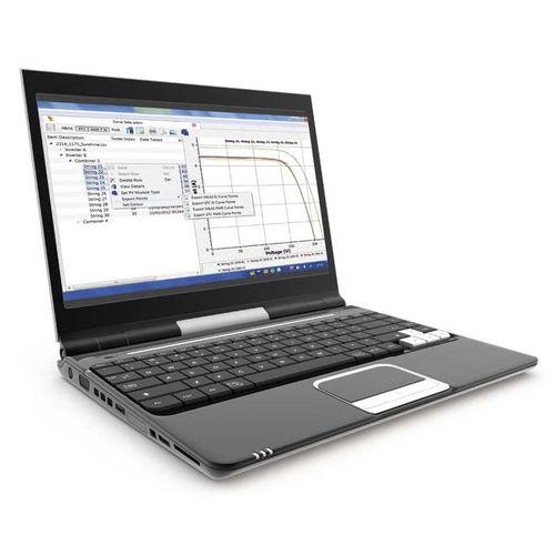 test software / verification / inspection / data export