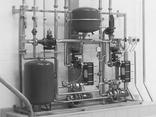 gas/liquid heat exchanger / stainless steel / compact