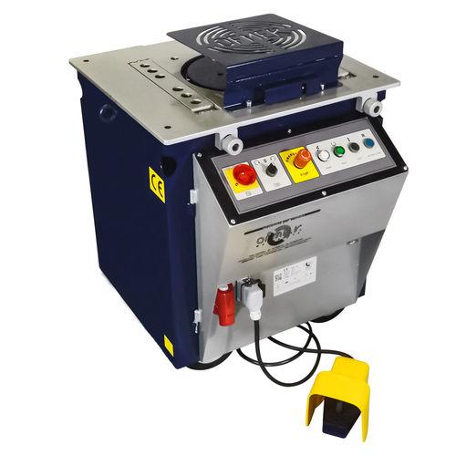 electric bending machine / concrete reinforcement / horizontal / mechanical