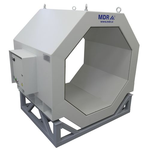 tunnel type metal detector / for conveyors / high-sensitivity / compact