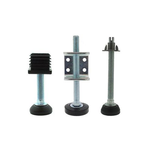 machine foot / metal / adjustable