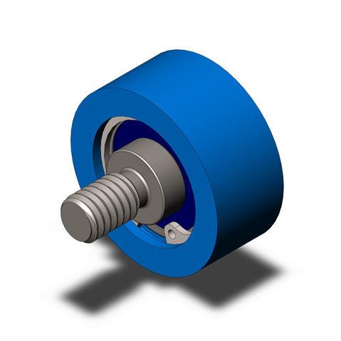 bearing wheel type roller / nylon