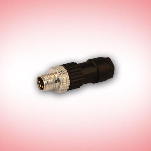 field-attachable connector / RF / DIN / circular