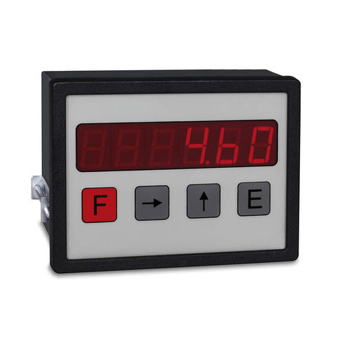 LED display / 6-digit / RS-232 / positioning