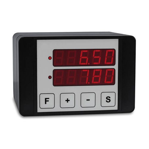 LED display / 12-digit / RS-232 / positioning