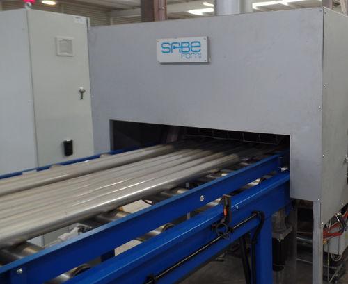 solubilization furnace / conveyor / roller / electric