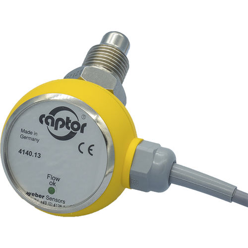 thermal flow switch / for water / compact / electronic
