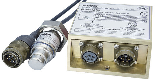 calorimetric flow meter / electronic / for water / for oil