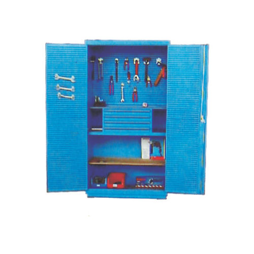 workshop cabinet / floor-mounted / 4-drawer / with compartments