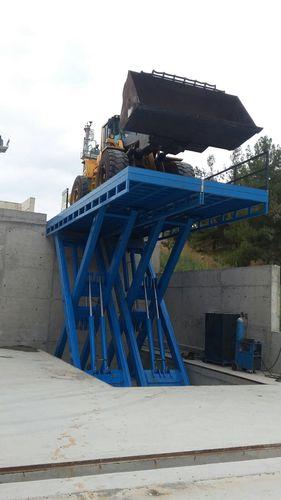 Tandem scissor lift table / hydraulic / loading / for heavy loads ESPH series Onder Lift Celik Mak. San. Tic. Ltd.Sti