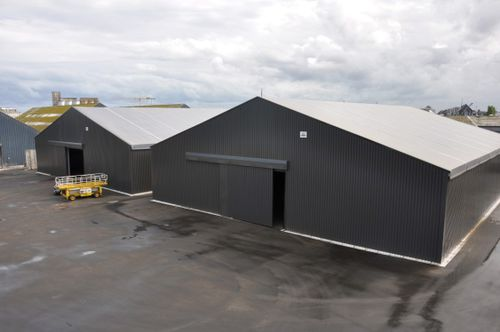 modular building / storage warehouse / storage hangar / storage shelter