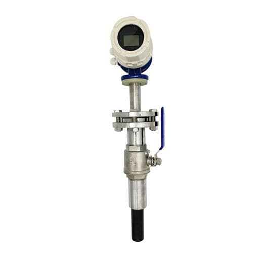 electromagnetic flow meter / for liquids / compact / with display