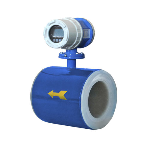electromagnetic flow meter / for liquids / digital / compact