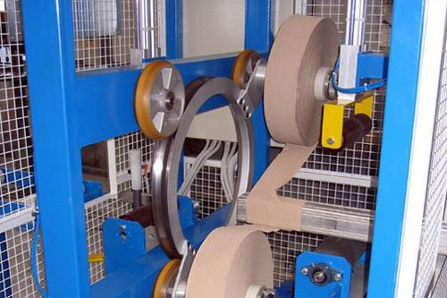 orbital wrapping machine / profile / for bars