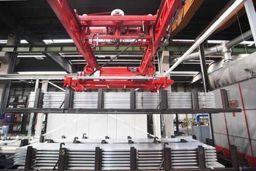 automatic lifter / basket / crate