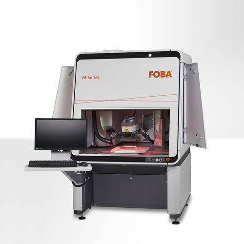 fiber laser engraving machine - FOBA
