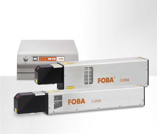 CO2 laser marking machine - FOBA