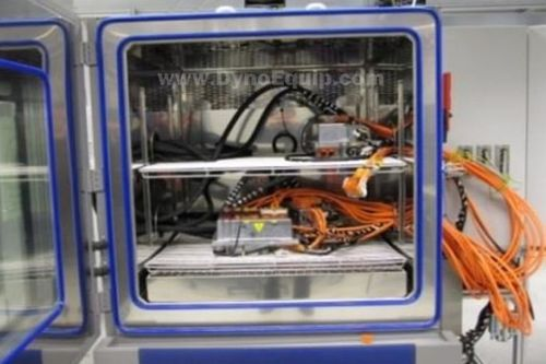 endurance test bench / for inverters / with climatic chamber