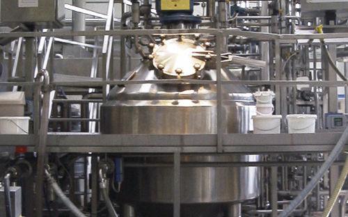 vacuum industrial cooker / stainless steel / batch